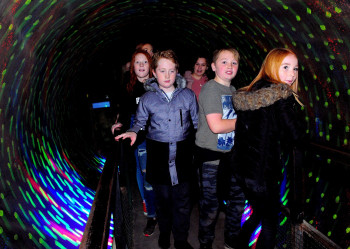 Cornys Hallowtween tunnel